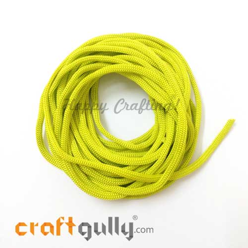 Cords - 3mm Nylon - Macrame - Light Green - 10 meters