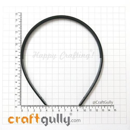 Accessories - Hair Band #1 - Black