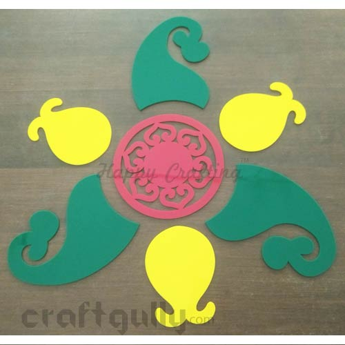 Rangolis - Acrylic - Design #9