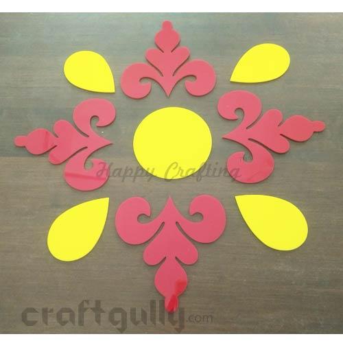 Rangolis - Acrylic - Design #10