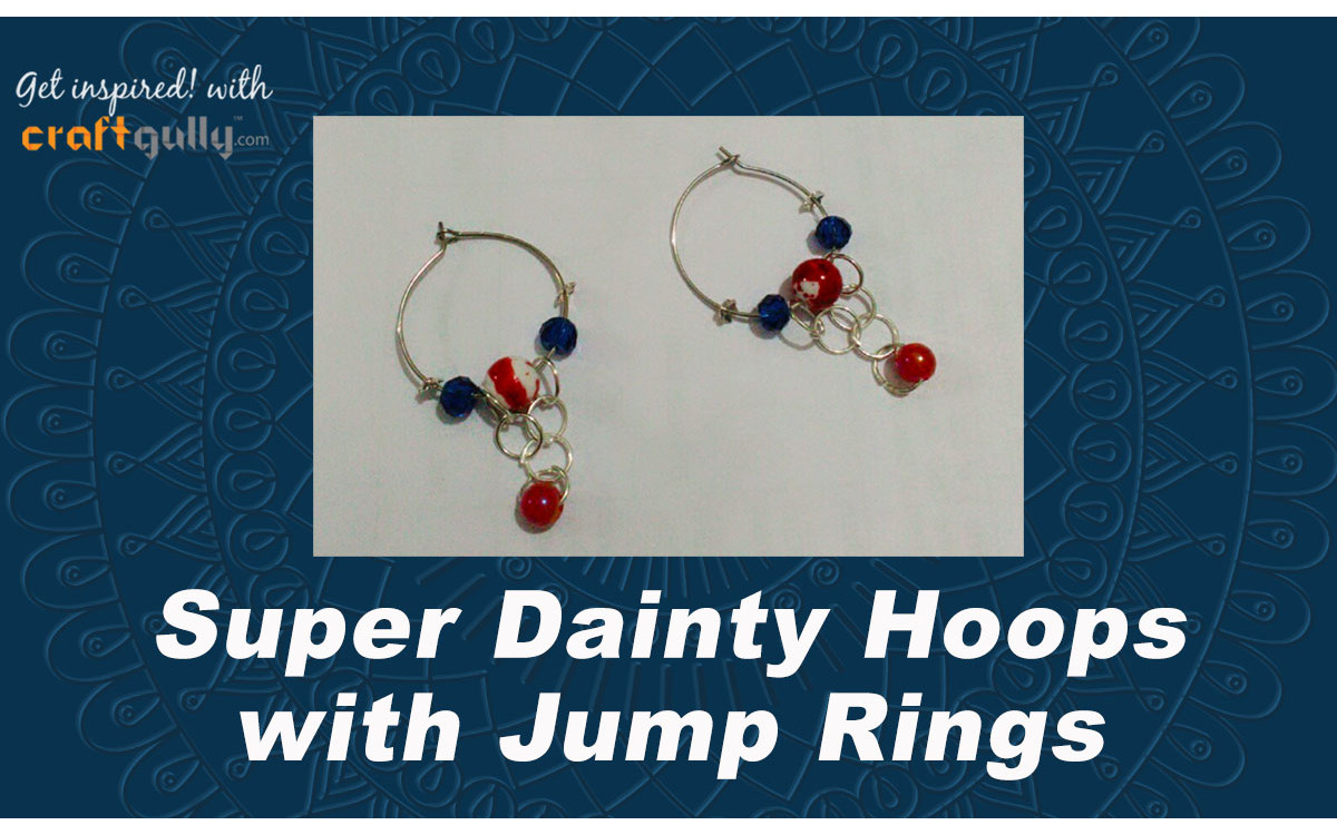 Super Dainty Hoop Earrings With Jump Rings