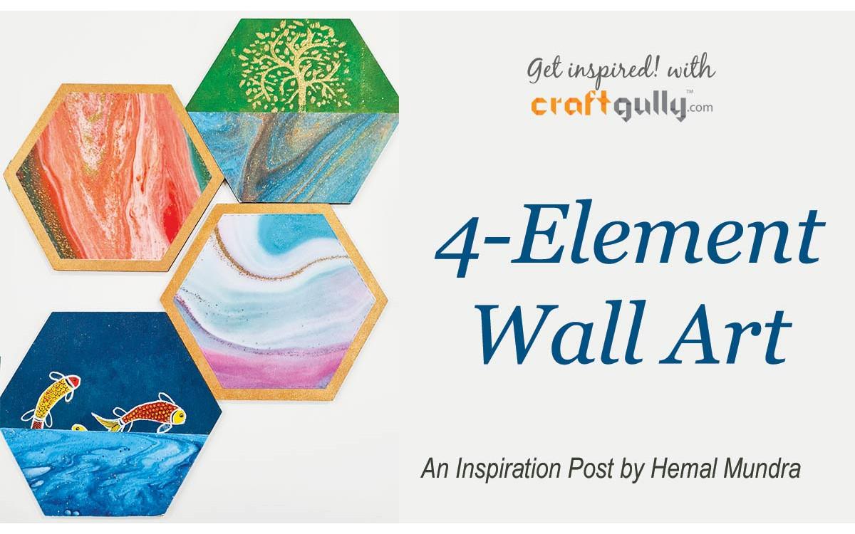 4 Element Wall Art