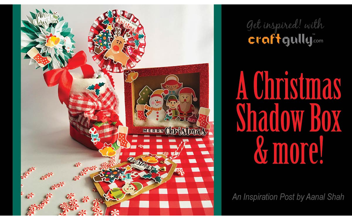 Christmas Shadow Box & More