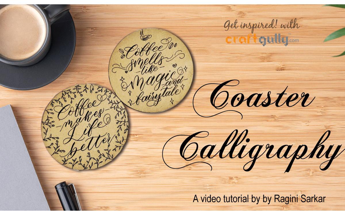 Coaster Calligraphy