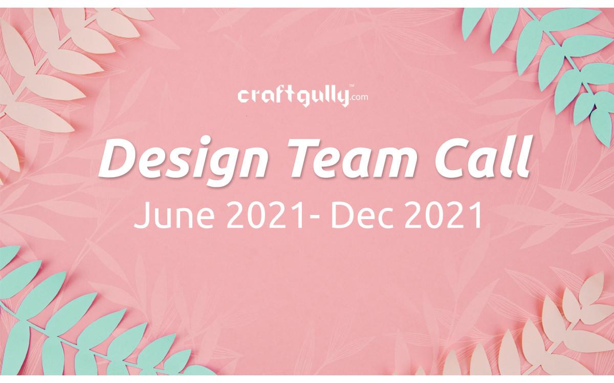 Design Team Call June - December 2021