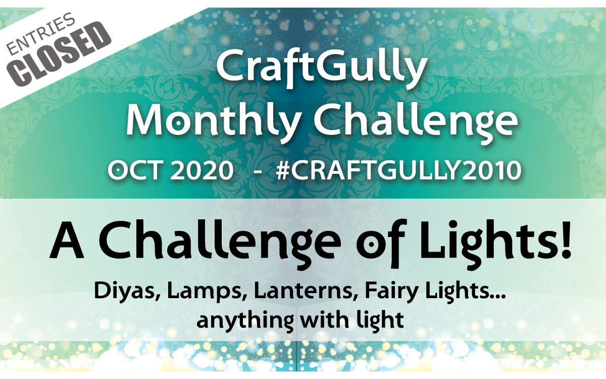 CraftGully Monthly Challenge - October 2020