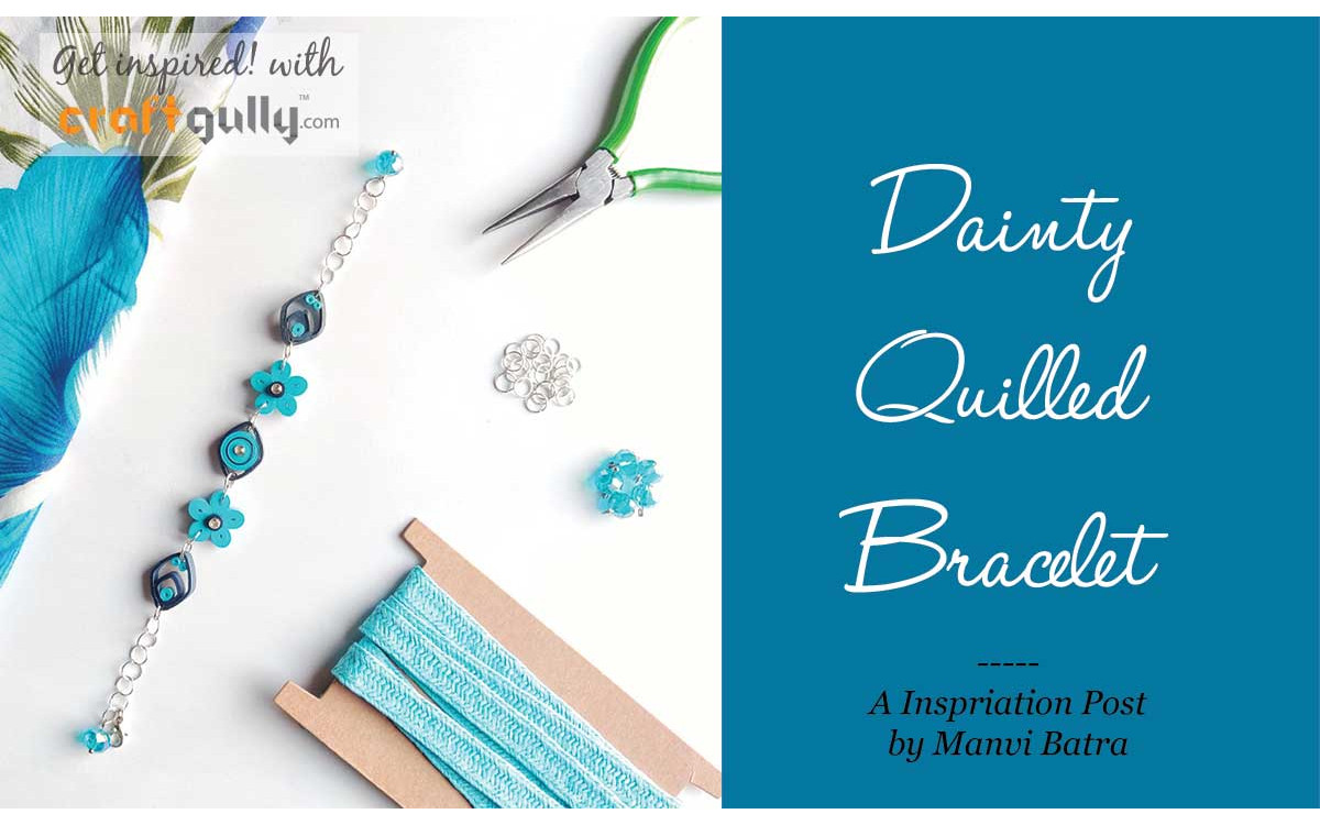 Dainty Quilled Bracelet