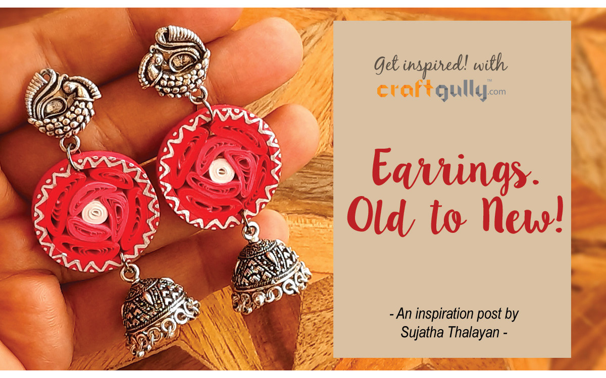 Earrings. Old To New!