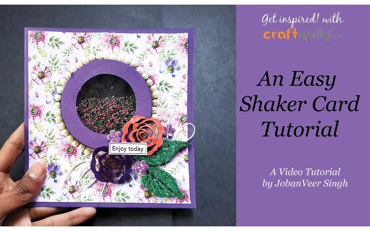 Easy Shaker Card Video Tutorial