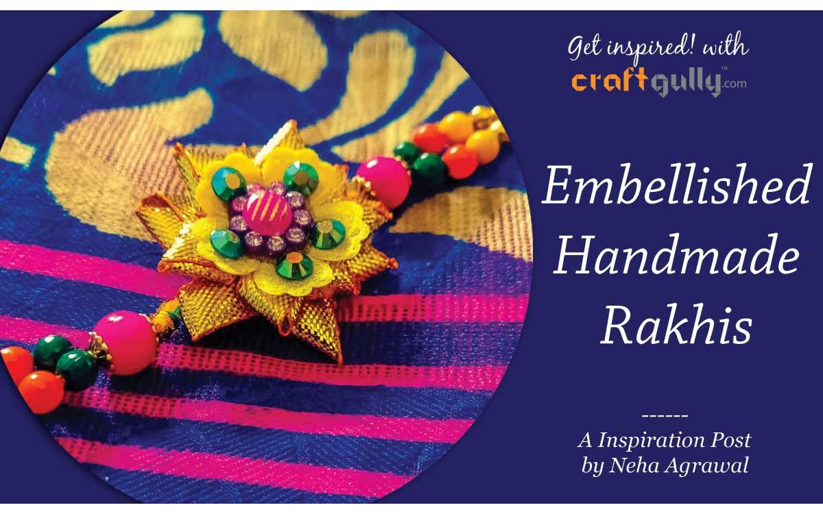 Embellished Handmade Rakhis