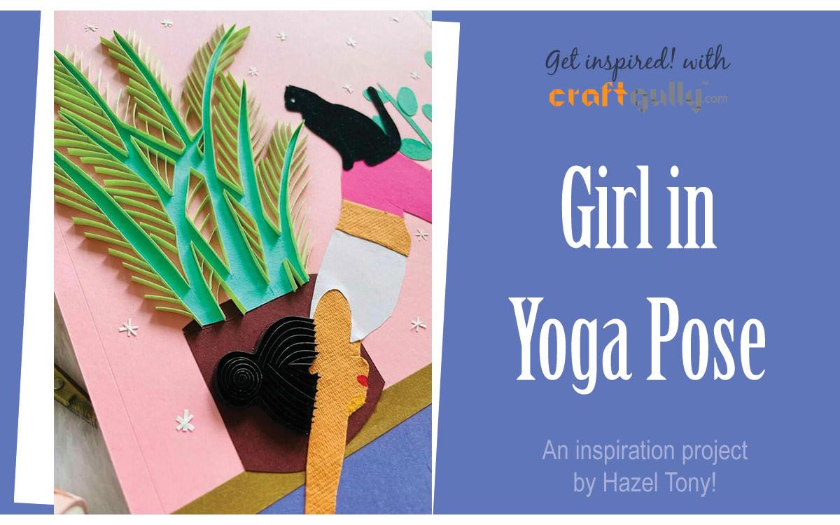 Girl In Yoga Posture