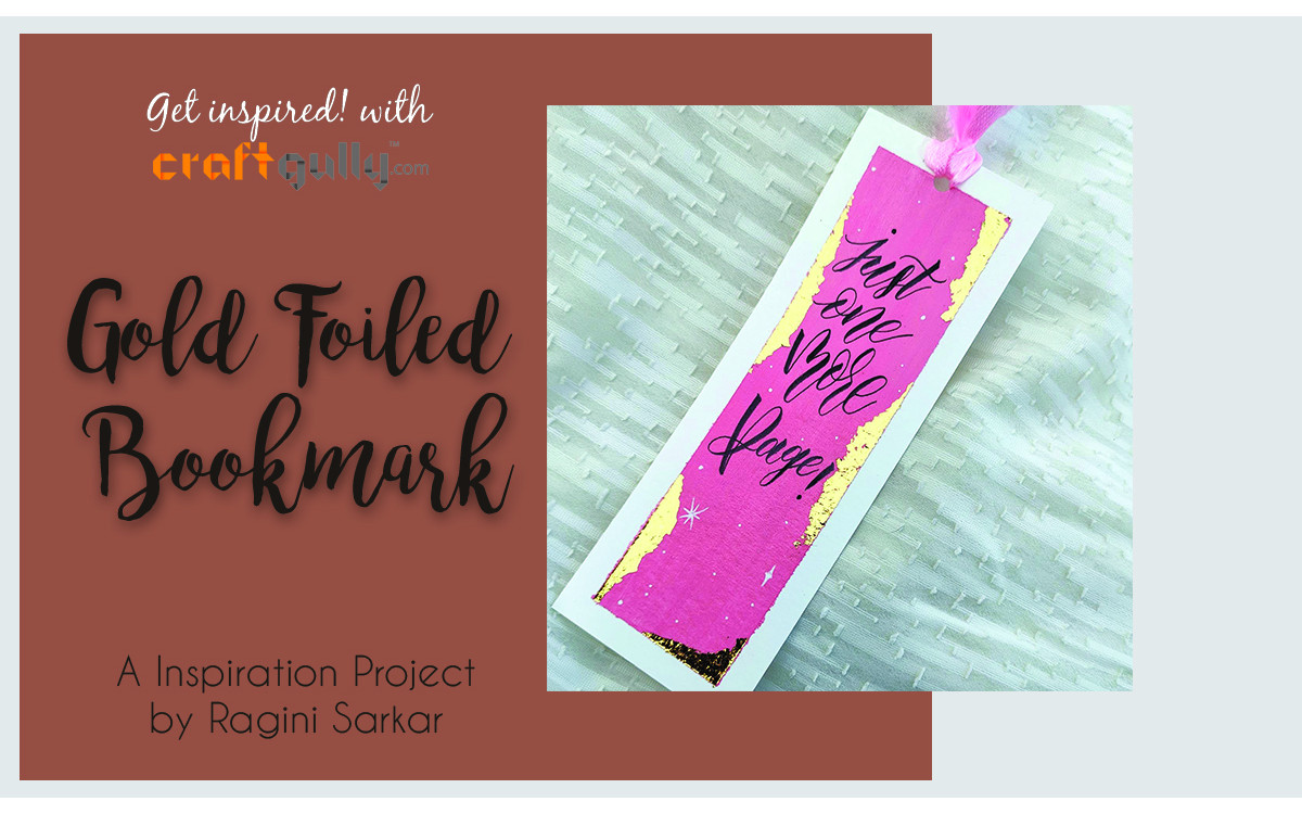 Gold Foiled Bookmark
