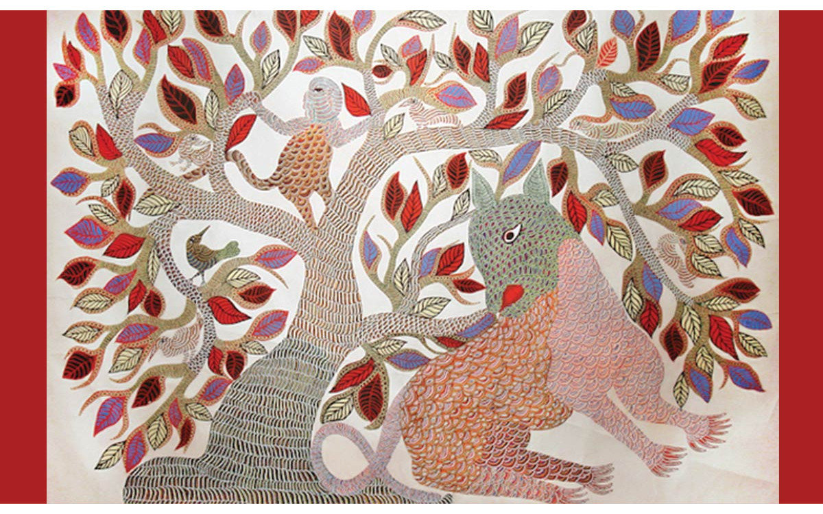 What Is Gond Tribal Art