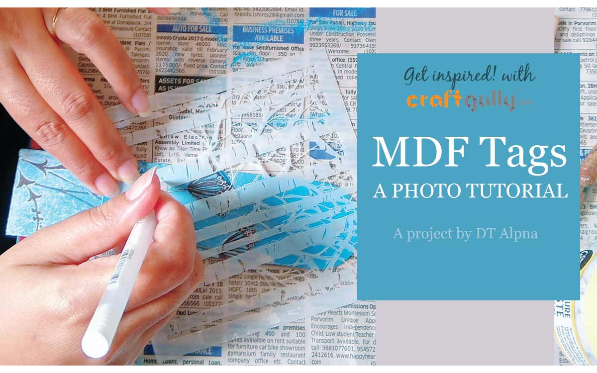 MDF Tags - A Photo Tutorial