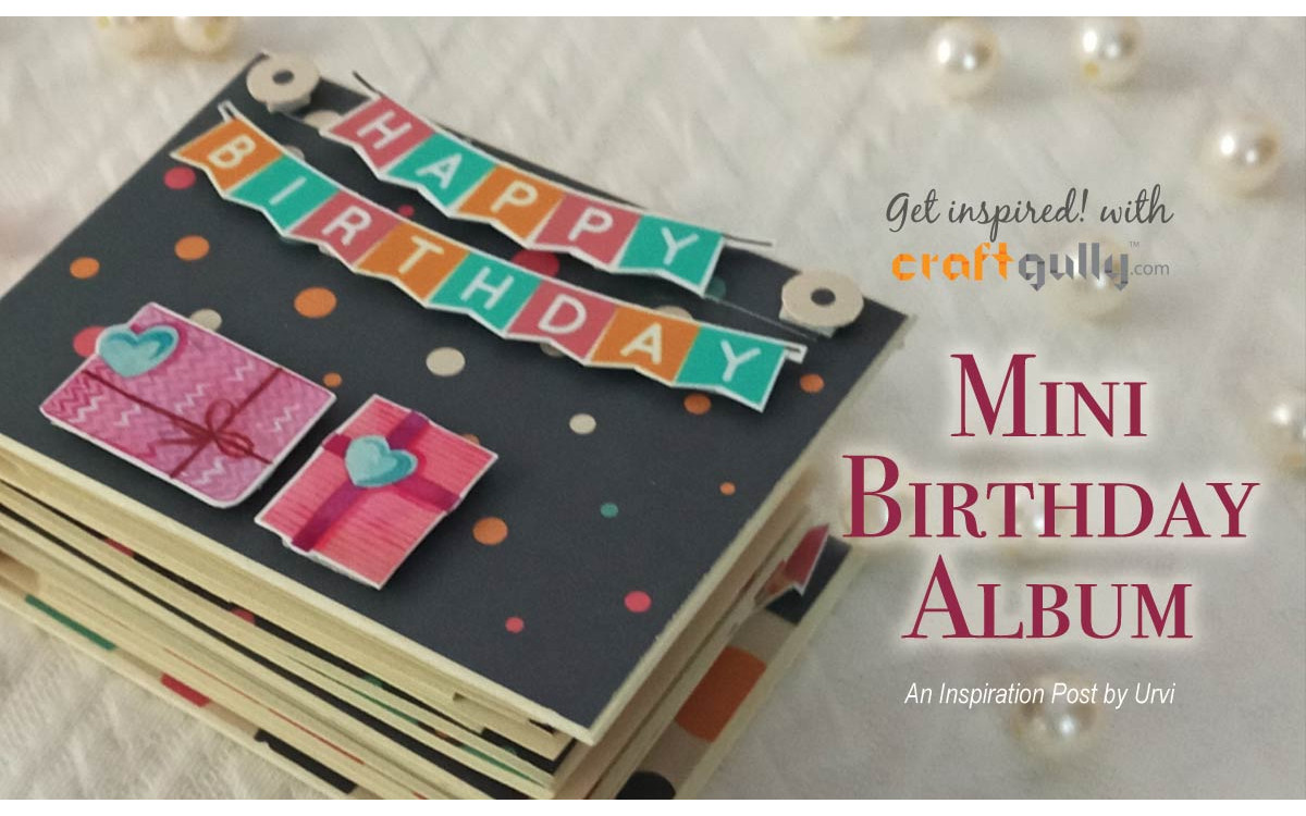Mini Birthday Album