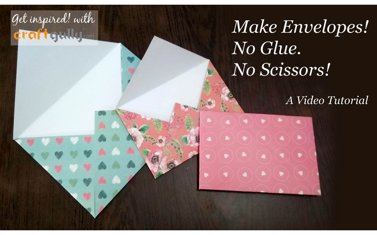 No Mess Envelopes Tutorial