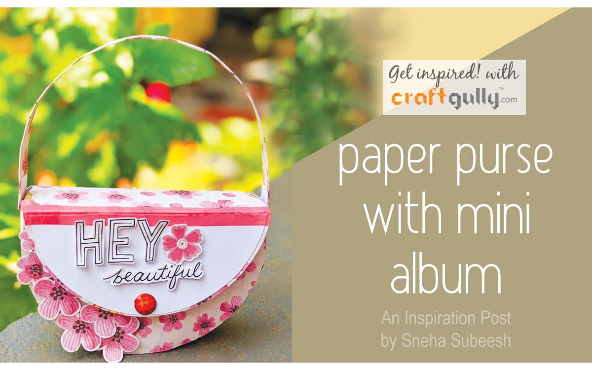Paper Purse With Album