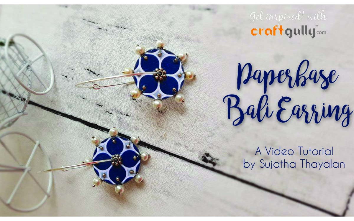 Paperbase Bali Earrings