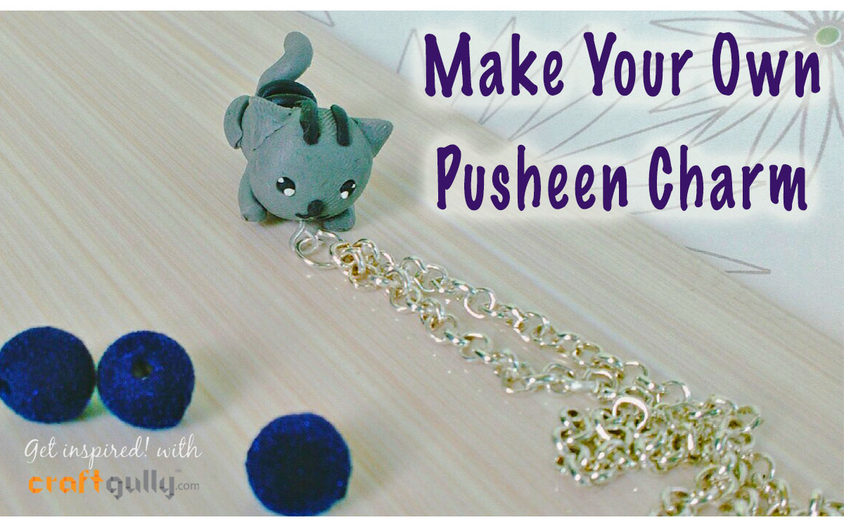 Make Your Own Pusheen Charm