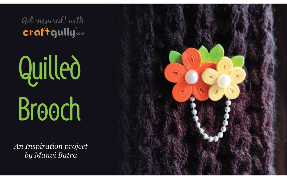 Quilled Brooch