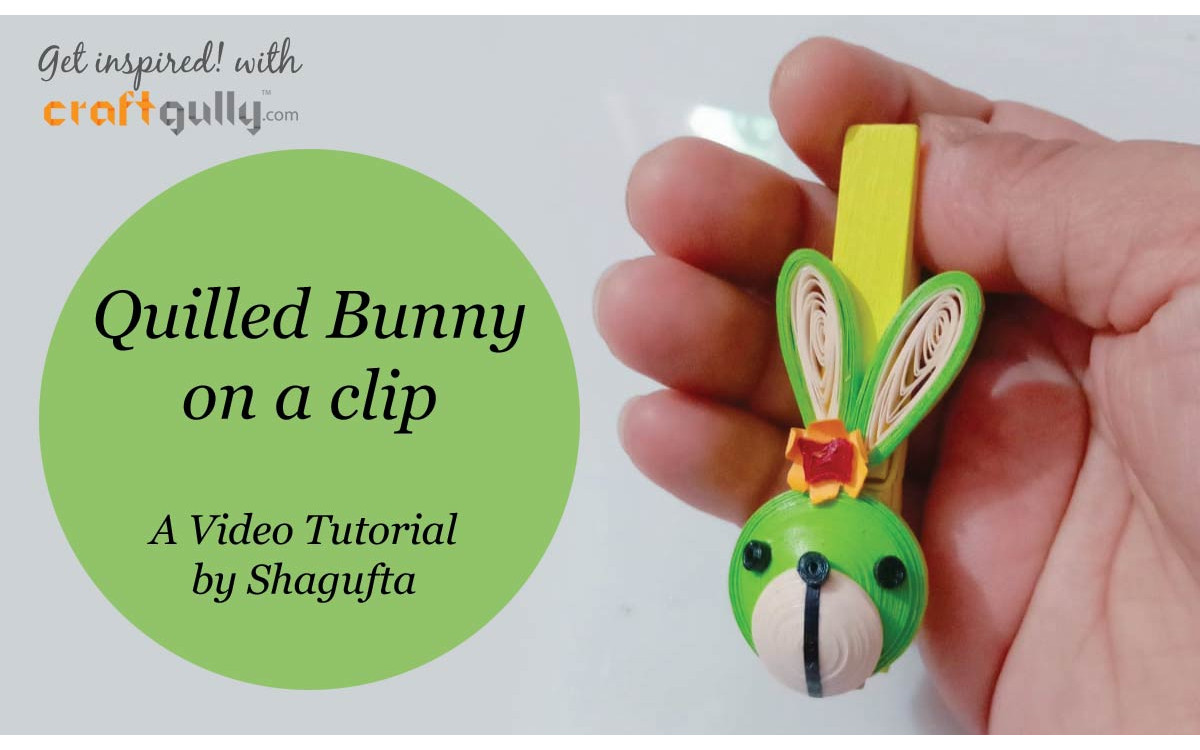 Quilled Bunny - A Video Tutorial