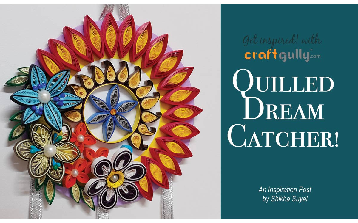Quilled Dreamcatcher