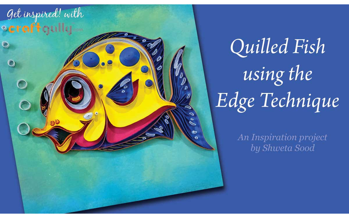 Quilled Fish - Edge Technique