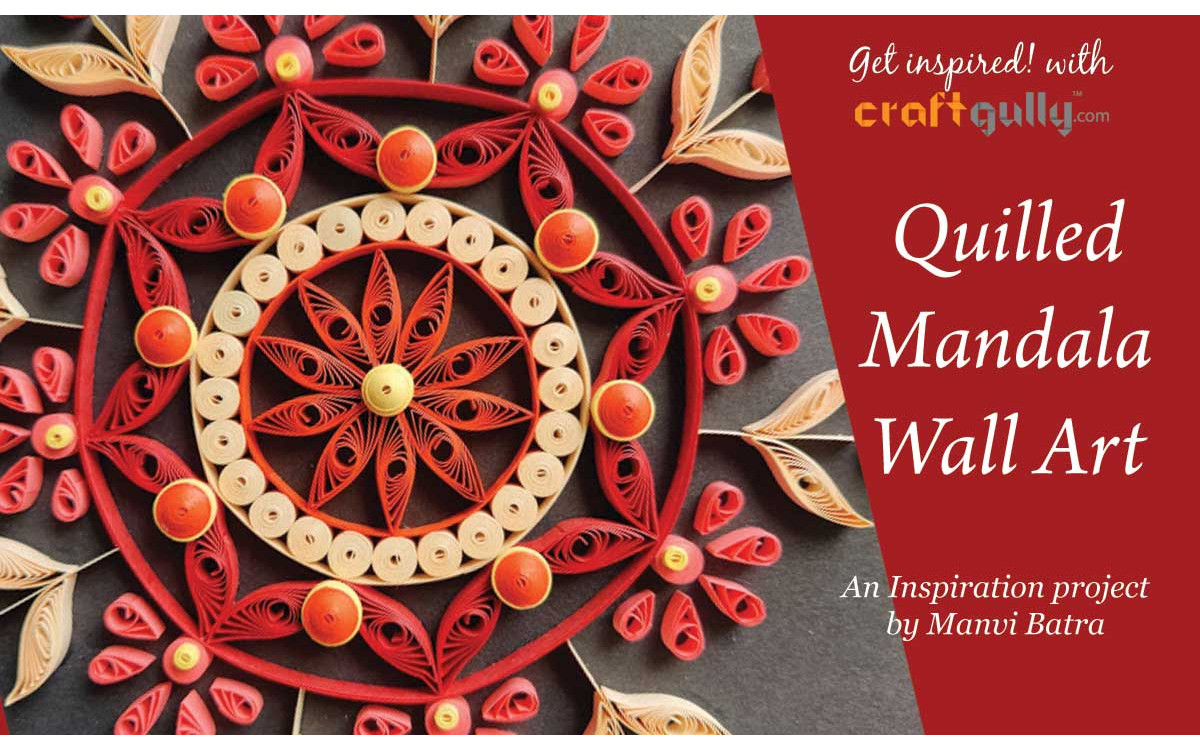 Quilled Mandala Wall Art