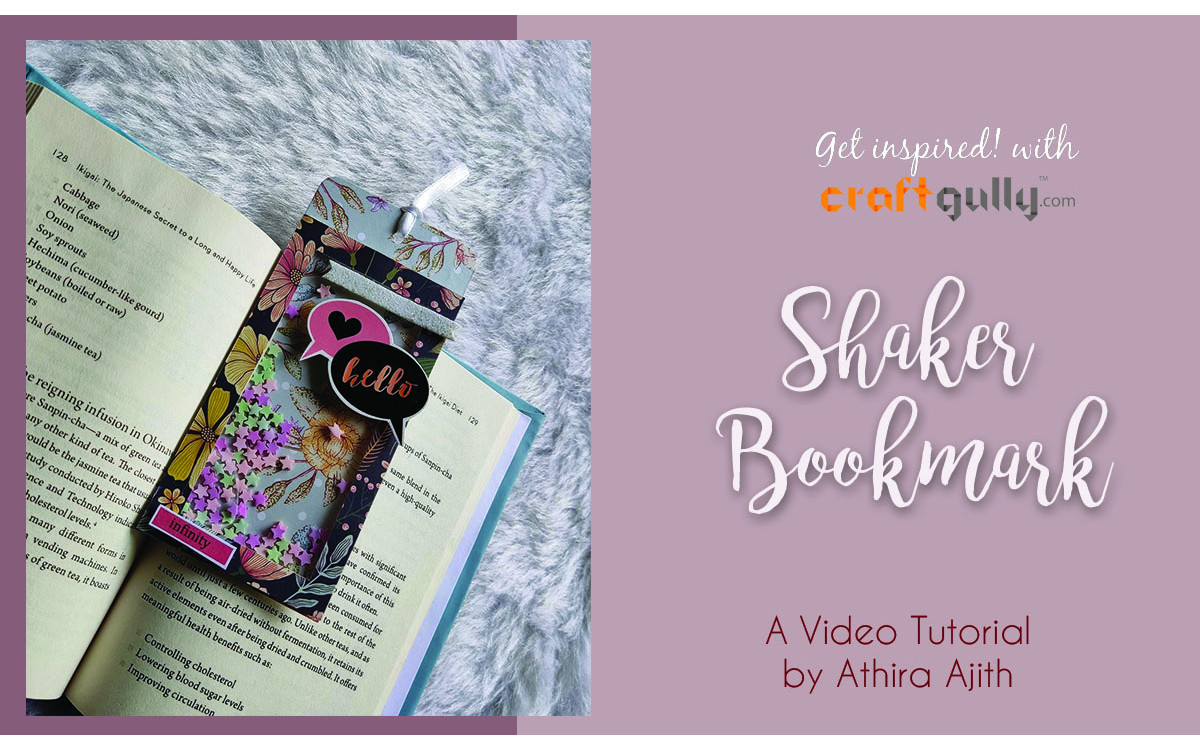 Shaker Bookmark Tutorial