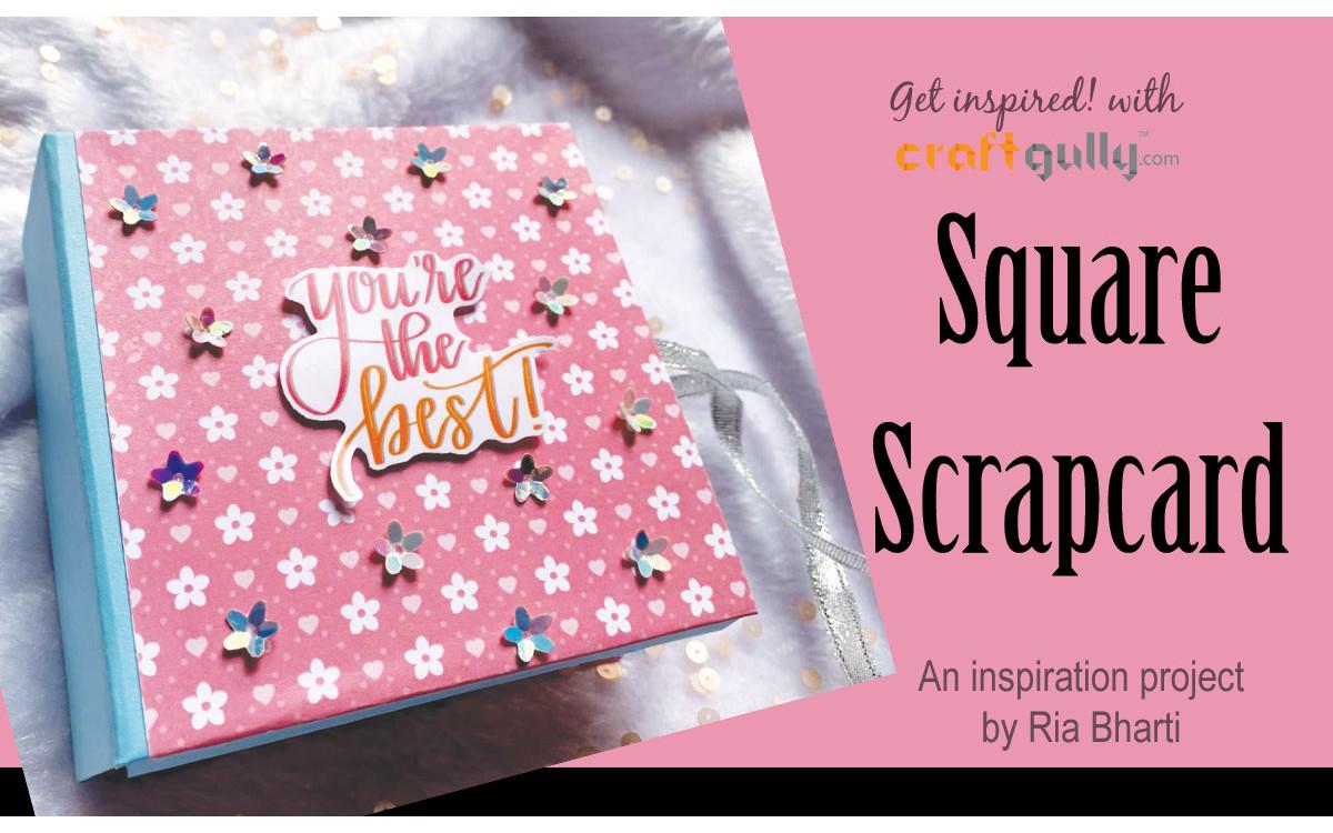 The Square Scrapcard