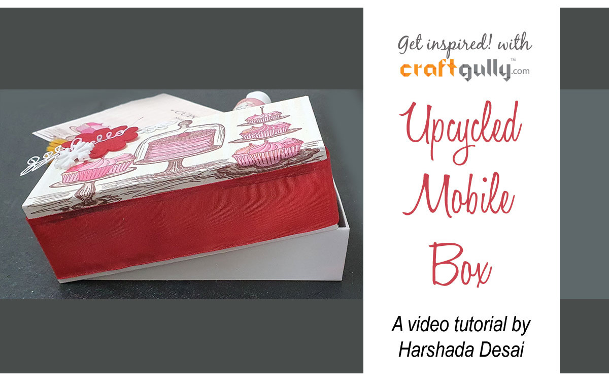 Upcycled Mobile Box To Gift Box