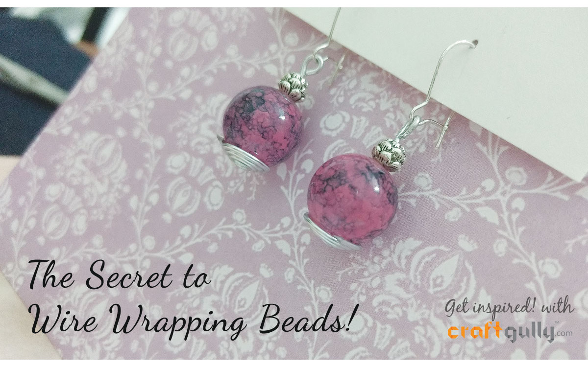 The Secret To Wire Wrapping Beads