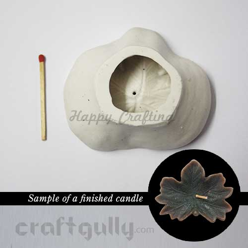 Candle Mould - Floating - Leaf Maple