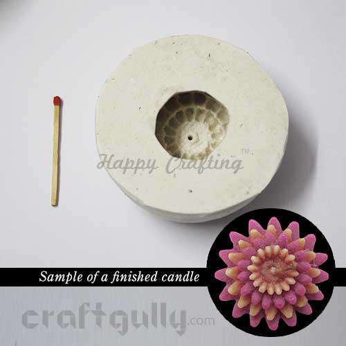 Candle Mould - Floating - Flora #1