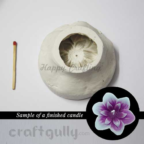 Candle Mould - Floating - Flora #2