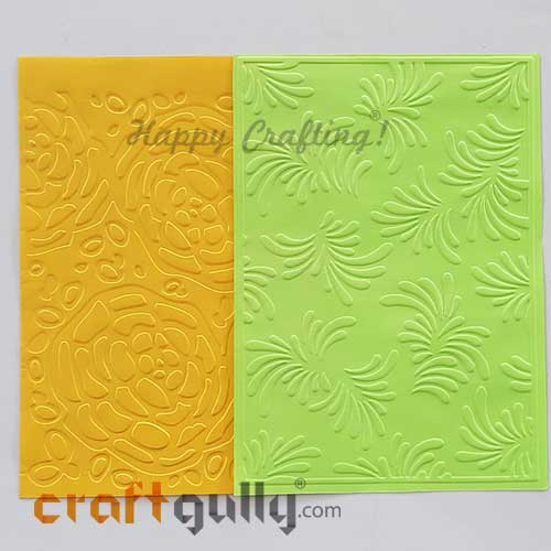 Embossed Papers A6 - #1 - Pack of 8