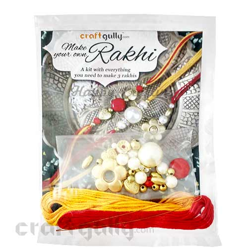 CraftGully Make Your Own Rakhi Kit