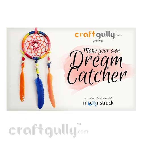 CraftGully DreamCatcher Kit