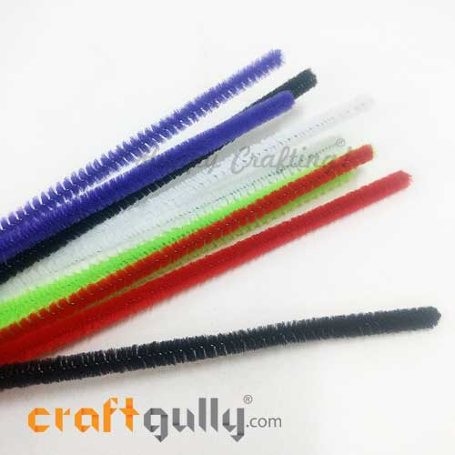 Pipe Cleaners - Assorted - Pack of 10
