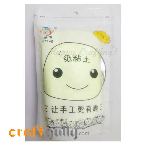 Paper Clay - Light Green - 75gms