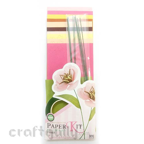 Paper Flower Kits #3 - Make 10 Flowers