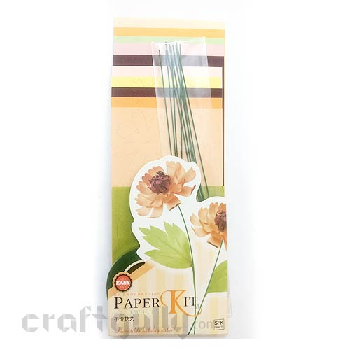 Paper Flower Kits #4 - Make 10 Flowers