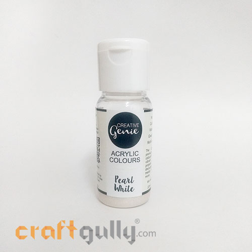 Acrylic Paints - Pearl White - 20ml