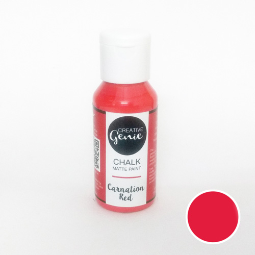 Chalk Paints - Carnation Red - 60ml