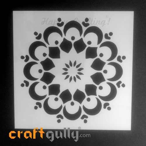 Stencils 150mm - Mandala #3