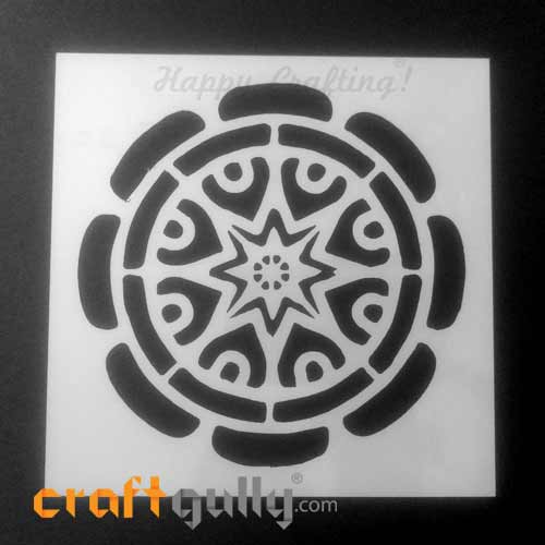 Stencils 150mm - Mandala #4