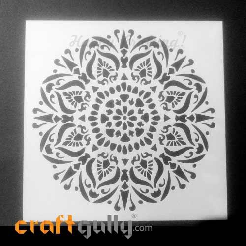 Stencils 150mm - Mandala #8