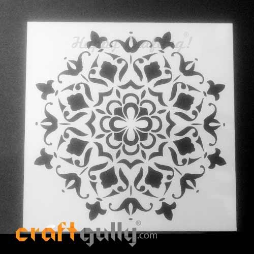 Stencils 150mm - Mandala #9