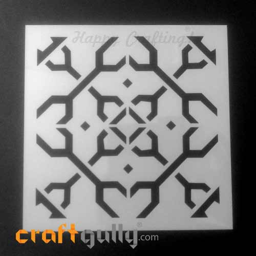 Stencils 150mm - Pattern Seamless #1