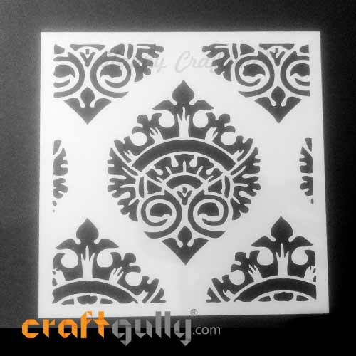 Stencils 150mm - Pattern Seamless #3